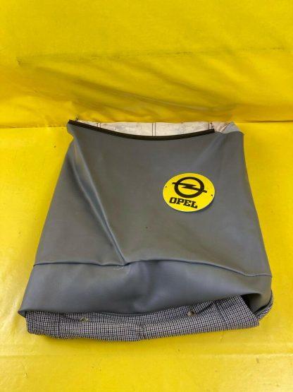 NEU + ORIGINAL Opel Kadett E Sitzbezug vorne grau Stoff Bezug Polster