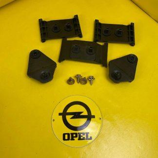 NEU + ORIGINAL Opel Rekord E2 Stoßstangenhalter Satz Halter Stoßstange