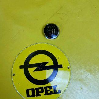 NEU+ ORIGINAL Opel Zafira B 6-Gang Schalthebel Knopf Schaltknauf Deckel Plakette
