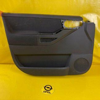 NEU + ORIGINAL Opel Meriva A Türverkleidung Türpappe innen vorne links schwarz