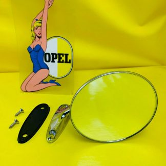 A K T I O N !NEU Chrom Spiegel links Opel Rekord C Commodore A Kadett B GT Oly A