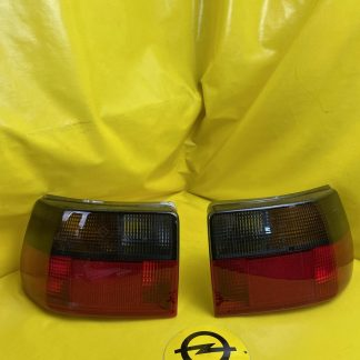 NEU & ORIGINAL Opel Astra F GSi Rücklicht Paar Rückleuchte getönt Set Paar rear light Vauxhall