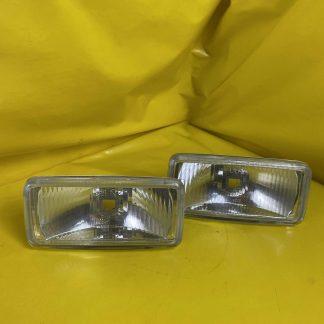 NEU Gabel Universal Scheinwerfer Paar = 2 Stück Fernscheinwerfer Zusatzscheinwerfer Hallogen Spoiler Frontspoiler
