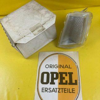 NEU + ORIGINAL Opel Monza A2 + Senator A2 Blinker links weiß