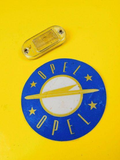 NEU + ORIG Opel Olympia Rekord P1 P2 Glas Nummernschildbeleuchtung Lichtscheibe