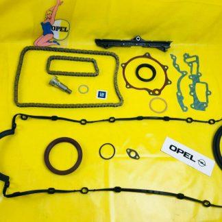 NEU ERSATZTEILPAKET XXL Opel 3,0 24V Steuerkettensatz + Dichtungen C30SE 3.0 3,6