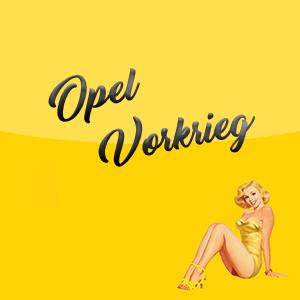 Opel Vorkrieg