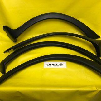 NEU SATZ Radlauf Blenden Corsa C vorne + hinten /re + li Verkleidung anthrazit