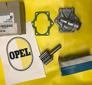 NEU + ORIGINAL OPEL Ölpumpenrad + Ölpumpendeckel passend für alle CiH NOS Deckel