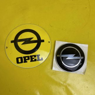 NEU & ORIGINAL Opel Frontera A Emblem Motorhaube Zeichen Logo Opelzeichen 91140585
