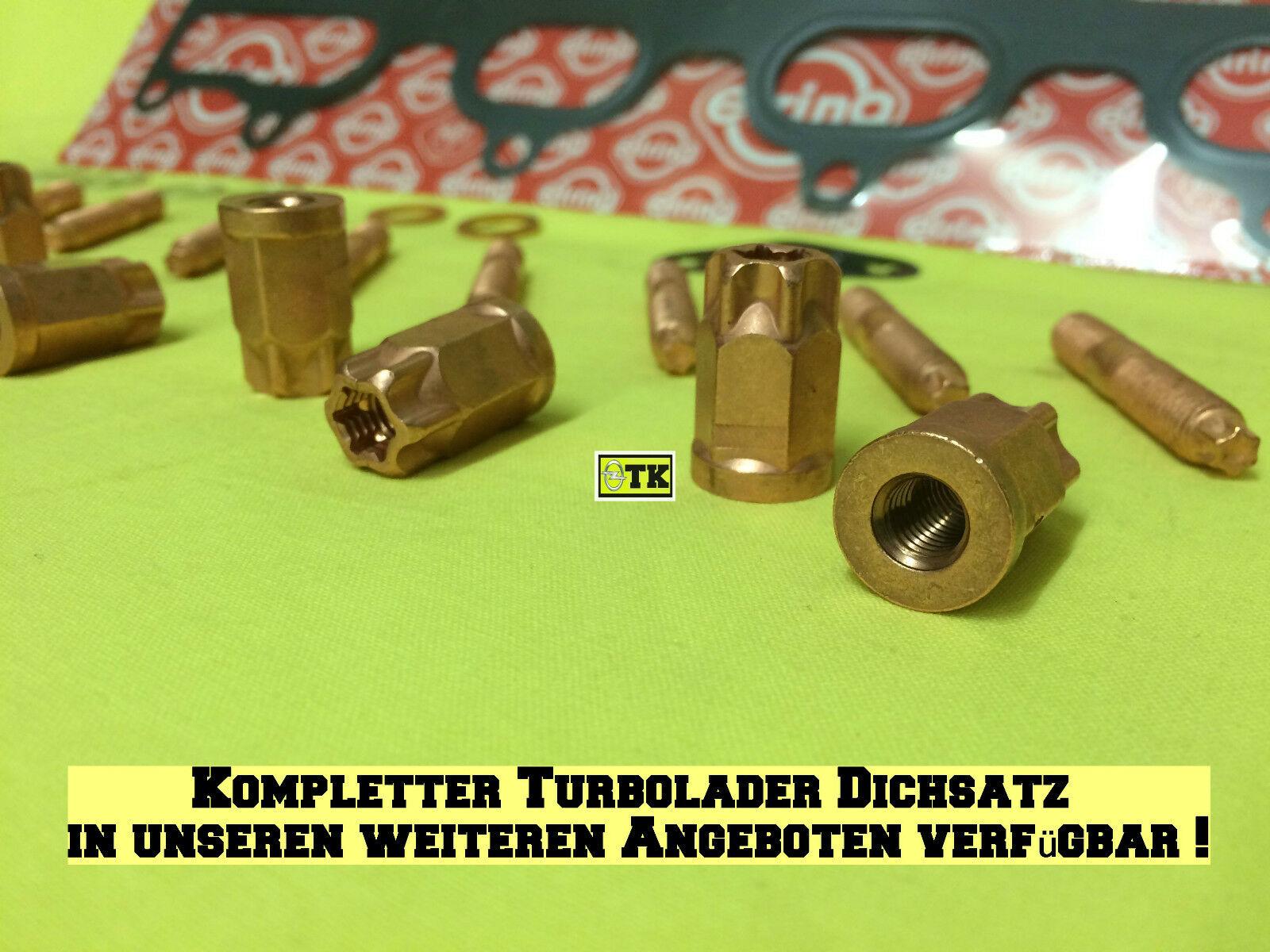 Abgaskrümmer Auspuffkrümmer Dichtung Opel Astra Speedster Zafira 2.0 Turbo OPC