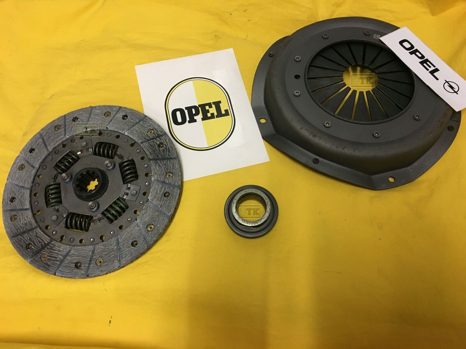 neu original opel 9 zoll kupplung komplett f r 5 gang zf. Black Bedroom Furniture Sets. Home Design Ideas
